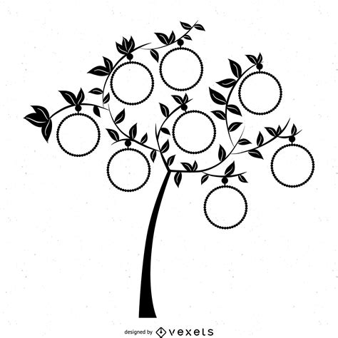 Clipart Pictures Templates Family Tree Template Png Family Tree Template With Frames Free Vector