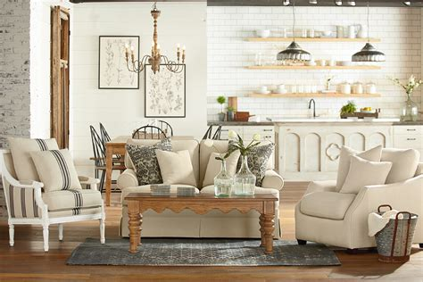 white distressed coffee table living room magnolia home