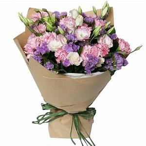 Mother's Day in Style - Pink Carnations Flower Bouquet ...