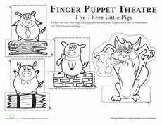 three little pigs on pinterest three little pigs little With the three little pigs puppet templates