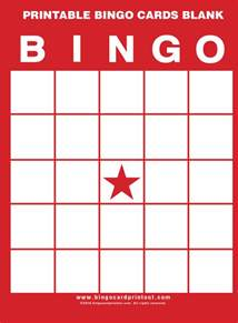Baby Shower Bingo Free Picture