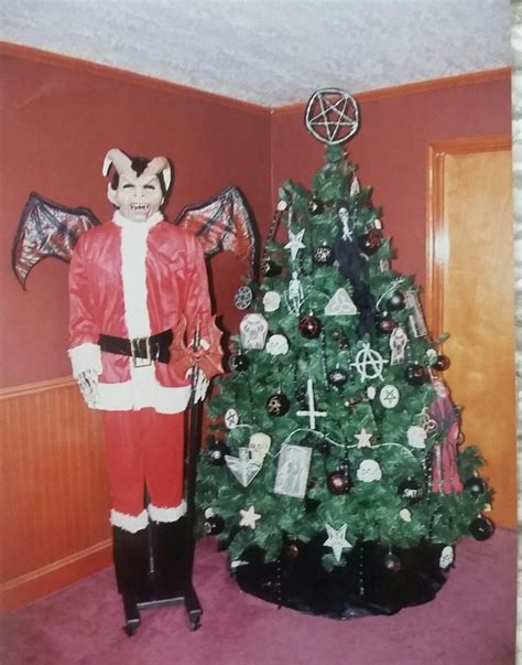 satanic christmas tree gothic pictures christmas