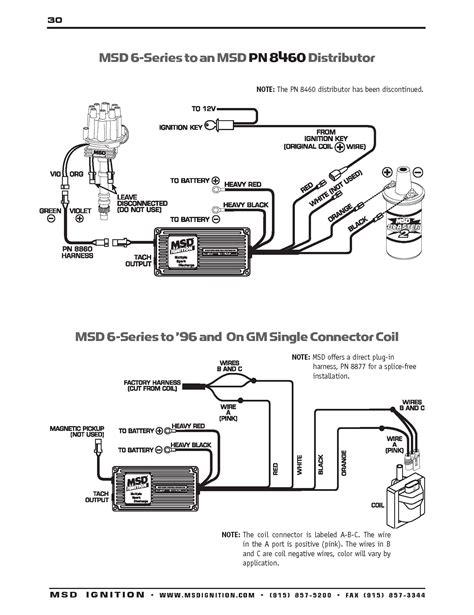 Msd Hei Wiring Diagram Volovets Info