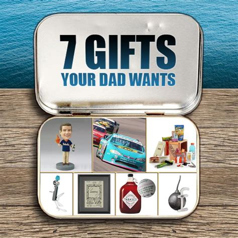 gifts dad really want and no ties are not on this list