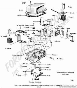 1977 Ford Voltage Regulator Wiring Schematic