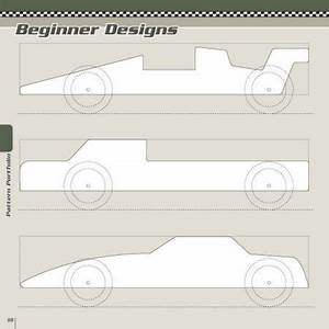 wooden pinewood derby designs and patterns pdf plans With boy scouts pinewood derby templates
