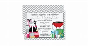 his and hers wedding shower invitation zazzle With his and hers wedding shower