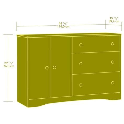 Sauder Beginnings Dresser Highland Oak by Sauder Beginnings 3 Drawer Dresser Highland Oak Finish Ebay