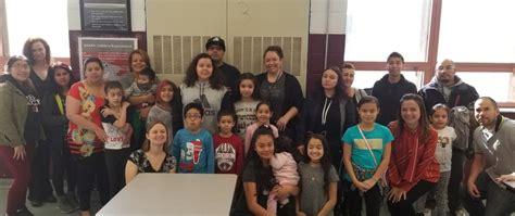broadway actress visits rafael hernandez school newark