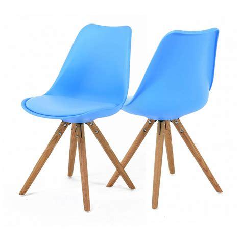 chaises bleues chaise bleue