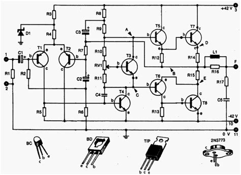Draw Your Wiring Rms Amplifier Circuit Diagram