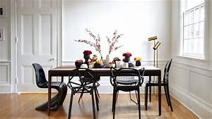 mismatched chairs and a farmhouse table a modern home With salle À manger contemporaineavec chaises de sejour salle a manger