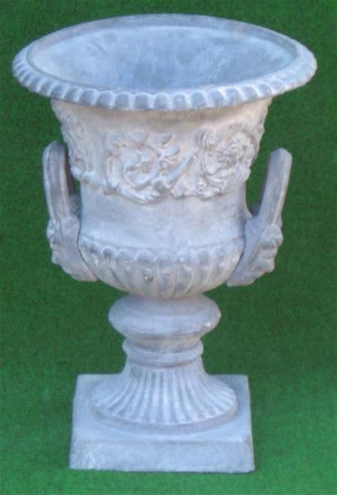Gusseisen Amphore Griffe Antik Grau37cmkratervase Ebay