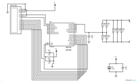 Digital Ammeter Using Avr Microcontroller Atmega