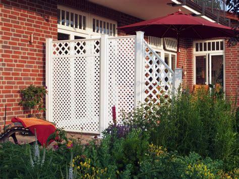 Sichtschutz Garten Weis Kunststoff by Sichtschutzwaende Kunststoff Sichtschutz Kunststoff Wei 223