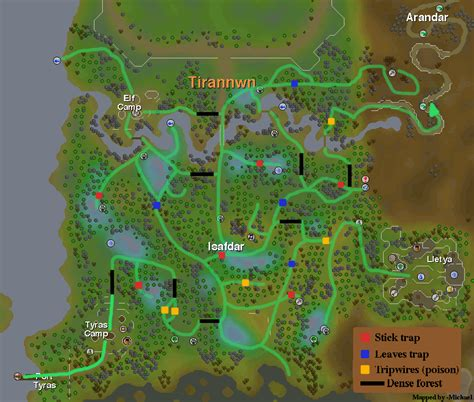 Runescape Forum Community Forums For Map Of Tirannwn Submit Content Zybez Runescape