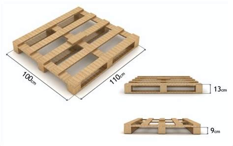 standard pallet dimensions  uk pallets designs