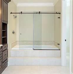 Bathtub Doors Oil Rubbed Bronze metro sliding bathtub doors dulles glass