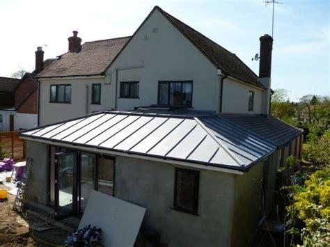vm zinc roofing zinc roof flat roof extension house extension plans