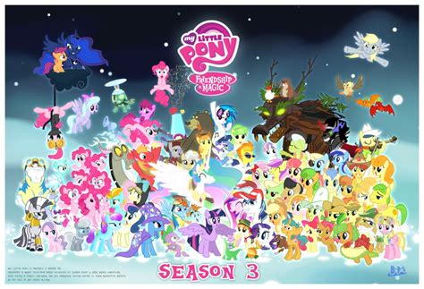 Mlp Characters My Family Does Not Understand Mlp Fim 93599 Productions