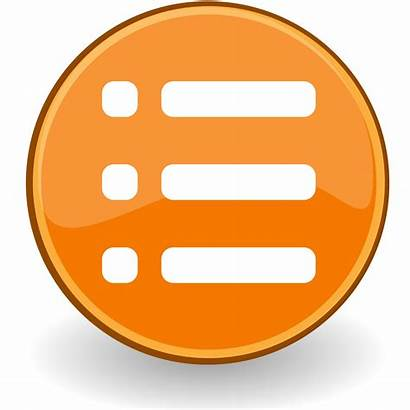 Icon Svg Wikipedia Liste Fichier Bestand Transparent