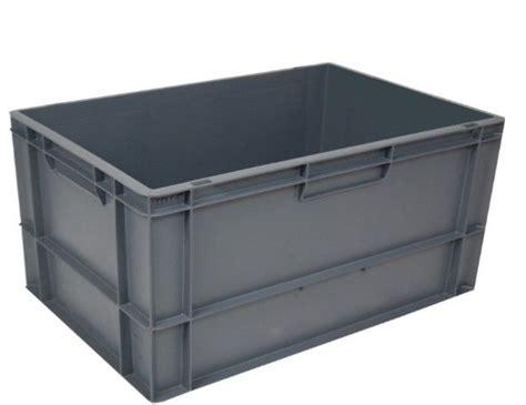 Kunststoff Eurobehälter 600x400x320 Geschlossen