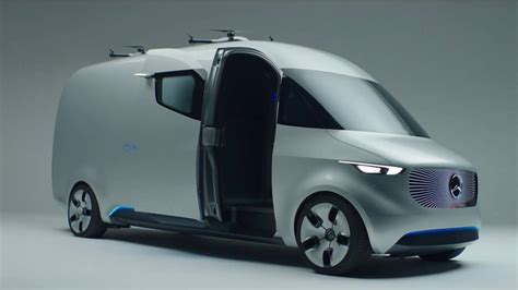 mercedes benz vision van drive  design youtube