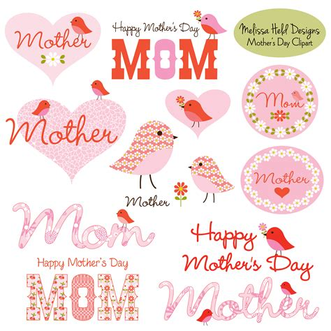 mothers day clipart s day clipart with birds mygrafico