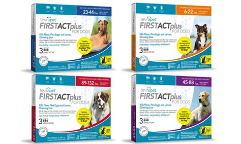 tevrapet firstact plus flea tick for dogs cats groupon