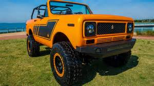 1979 International Harvester Scout Ii Restomod Is One Cool