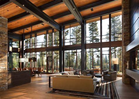cuisine de luxe moderne fabulous mountain modern retreat in the high sierras