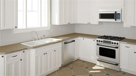 kitchen colors for white cabinets should you stain or paint your kitchen cabinets for a 8221