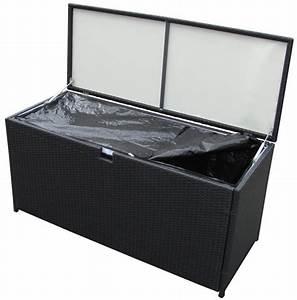 Kissenbox Wasserdicht Rattan : poly rattan kissenbox auflagenbox gartenbox 115 x 45 x 65 cm schwarz ebay ~ Markanthonyermac.com Haus und Dekorationen