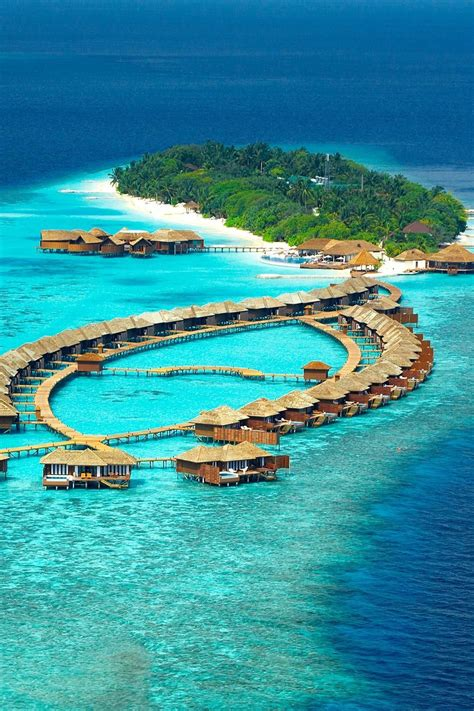 Lily Beach Resort In The Maldives Located On The Tropical