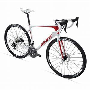 Giant 2015 Defy Advanced 1 Carbon Road Bike Red White £ ...
