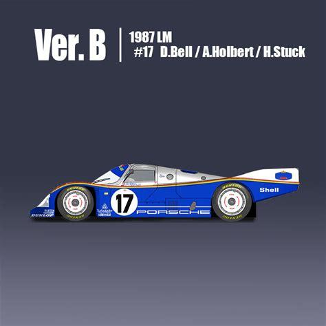 Lego porsche, playmobil and puzzle. Porsche 962C Fulldetail Kit - Model Factory Hiro | Car ...