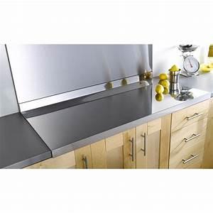 Recouvrir Plan De Travail Cuisine Adhesif : plaque inox pour recouvrir plan de travail ~ Dailycaller-alerts.com Idées de Décoration