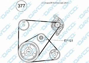 Belt  U0026 Pulley Kit For Ford Ranger Pj