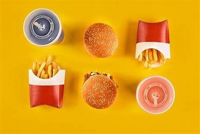 Fast Super Background Eating Burger King Snacks