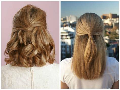 HD wallpapers hairstyles for medium length hair half up half down