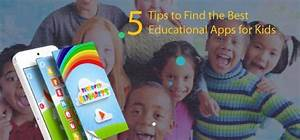 5 Tips to Find the Best Kids Educational Apps