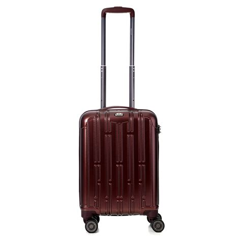 cabin friendly luggage aerolite eco friendly lightweight shell cabin luggage