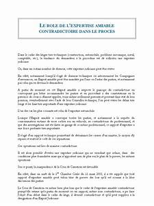 Expertise Médicale Contradictoire : le role de l 39 expertise amiable contradictoire ~ Medecine-chirurgie-esthetiques.com Avis de Voitures