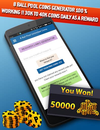 8ball pool free coins rewards play softwares awgzdacbxjwh mobile9