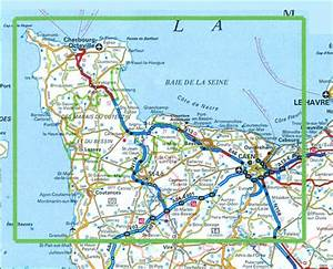 Normandy D-Day - 6 June 1944 IGN Map Stanfords