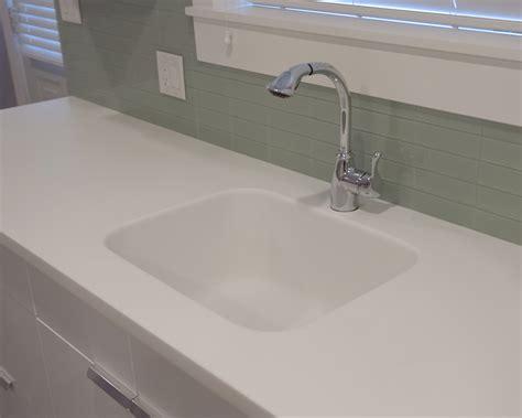 solid surface kitchen sinks motevaselan hi macs arctic white solid surface kitchen