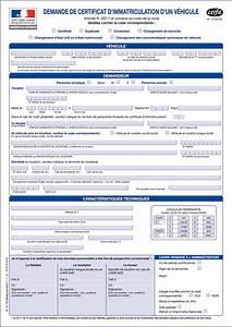 Demande D4immatriculation D Un Vehicule D Occasion : demande d 39 immatriculation d 39 un v hicule cerfa n 13750 03 immatriculation r glementation des ~ Gottalentnigeria.com Avis de Voitures
