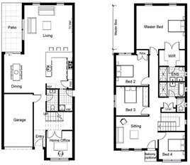 best 25 two storey house plans ideas on 2