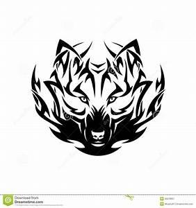 Symbole Du Loup : tatouage tribal de loup illustration de vecteur image du ~ Melissatoandfro.com Idées de Décoration