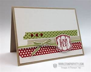 Bah Humbug Stampin Up Very Merry Tags Card